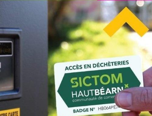 Distribution des badges d'accès en déchèteries prolongée jusqu'au 15 juin !